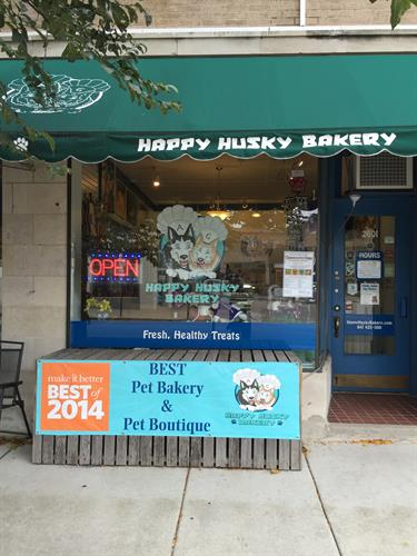 The Happy Husky Bakery welcomes you!