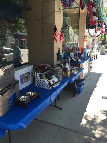 Central Street Sidewalk Sale Fun at the Happy Husky Bakery