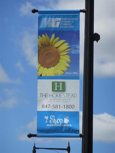 Morton Grove Pole Banners