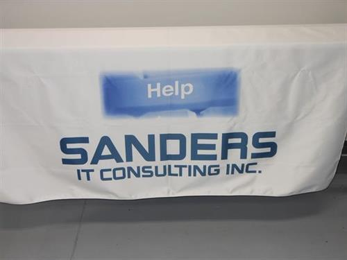 Sanders IT Consulting Table Runner
