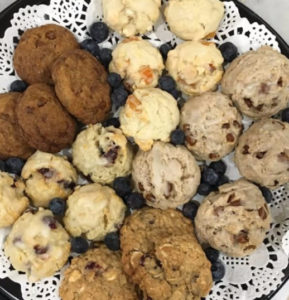 9 frozens scones for $20 to bake at home!