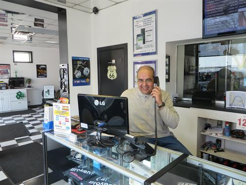 Owner and our friend.  Stop by and ask for Pete.  He'd love to meet you.