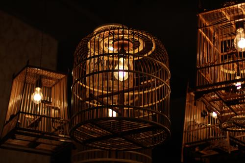 NaKorn Bird Cage Lighting Fixtures