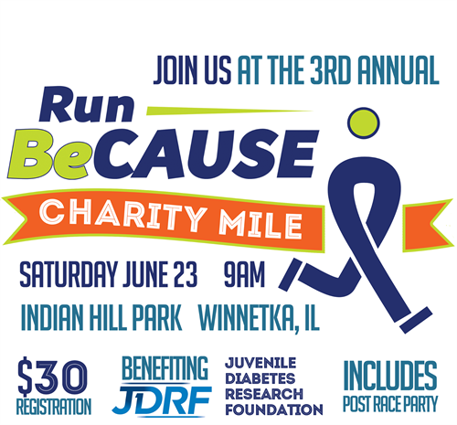 Join us this Saturday in support of Team JDRF. We will be running and volunteering for the race, send us a private message if you are interested in joining us for a great cause!