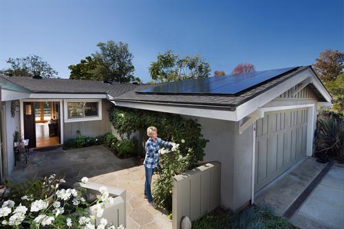 Solar on garage