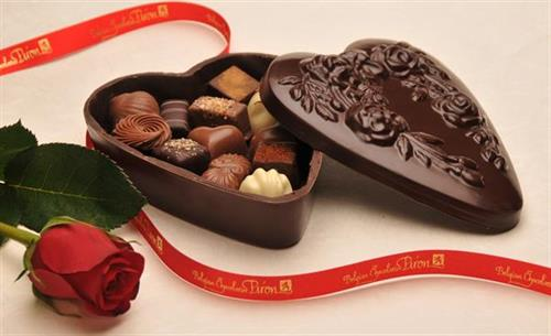 Heart shaped Chocolate Box, filled with our signature chocolates