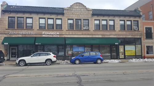 825 Chicago Ave - Leffingwell Building