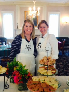 Downton Abbey High Tea at the Woman's Club of Evanston