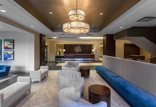 Welcome to the Holiday Inn Chicago North - Evanston where complimentary wifi is in all public spaces and guest rooms