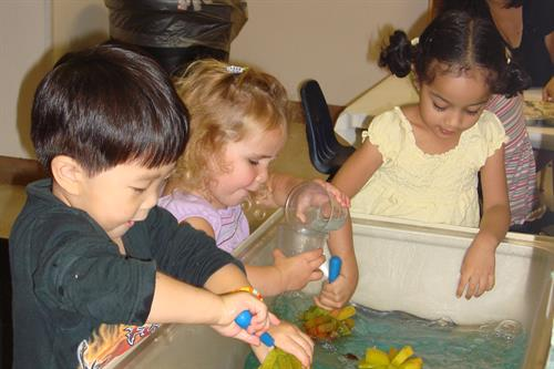 Developmental play-based learning