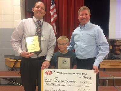 AAA Utah School Safety Patroller and Adviser of the Year