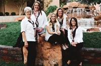The Travel Connection Team: Mary Curtis, Christi West, Ashley Heywood, Lauren Baxter, & Celece Seegmiller