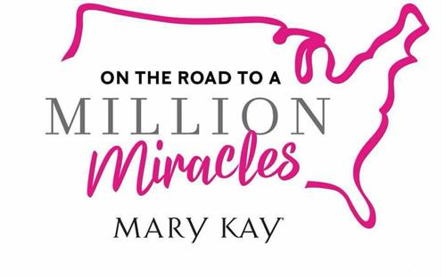 Million sold + $1,000,000 to Mary Kay Foundation