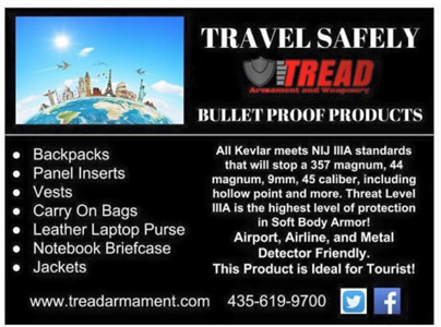 Travel Safely with Tread