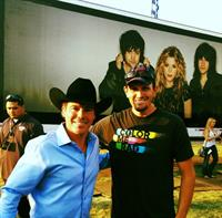 Eric with Clay Walker