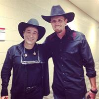Eric with Clint Black