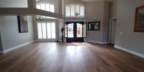 Engineered Hardwood Foyer