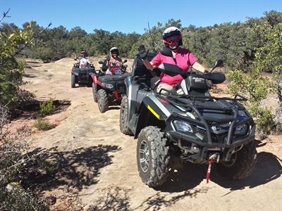 Enjoy Driving on our Zion ATV Tour