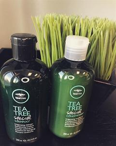 we carry the whole Paul MItchell Tea Tree line.