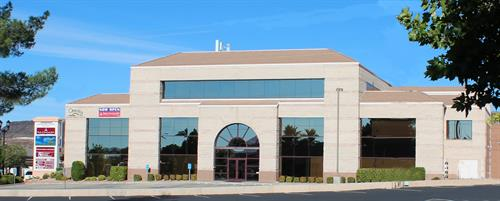 We are located in the beautiful Jennings Building on St. George Blvd. First floor.