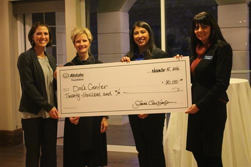 Allstate Foundation Grant for Dove Center