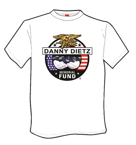 Navy Cross recepient Danny Dietz Memorial Fund t-shirt, printed, fund raiser.