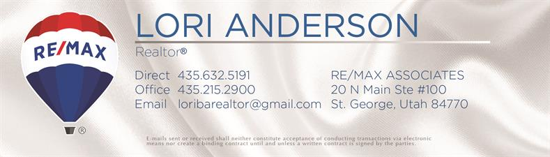 Lori Anderson, Realtor at ReMax Associates