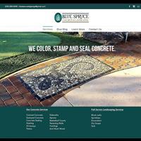 Blue Spruce Concrete & Landscaping L.L.C.
