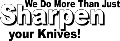 We Do Sharpening!