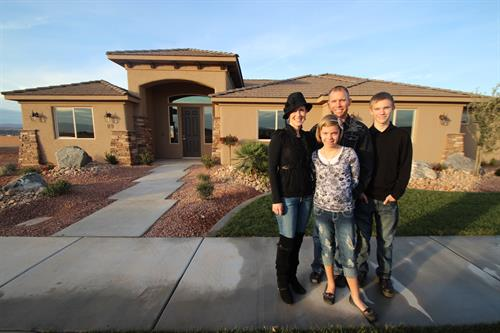 """Malissa listened to what we wanted and took the time to find the right home for us!"""