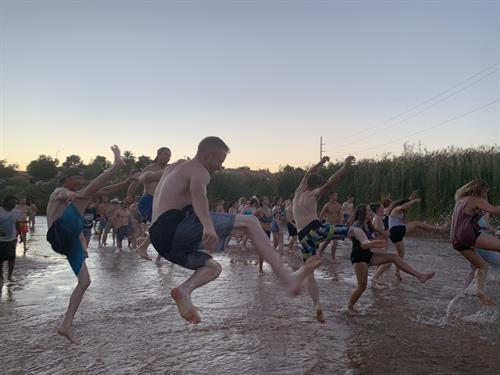 River Dance - Jumping