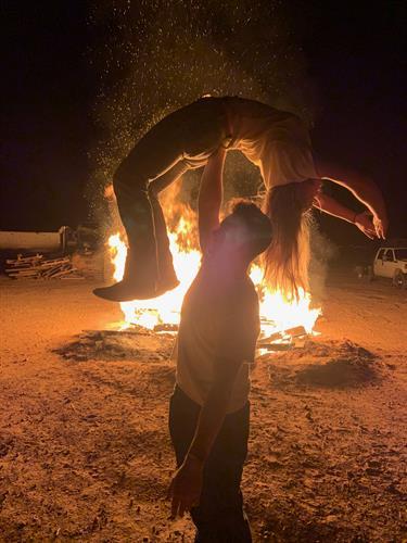 Bon Fire Dance