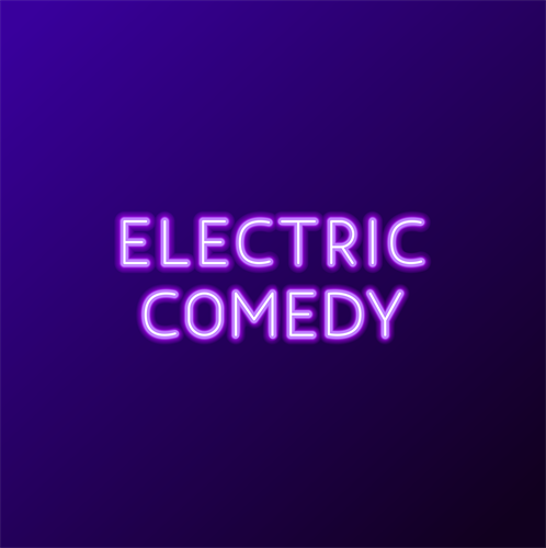 Electric Text Logo