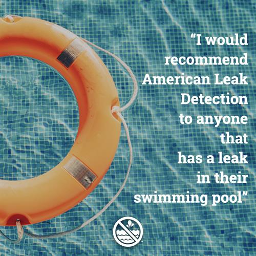 We specialize in swimming pool leak detection and repair