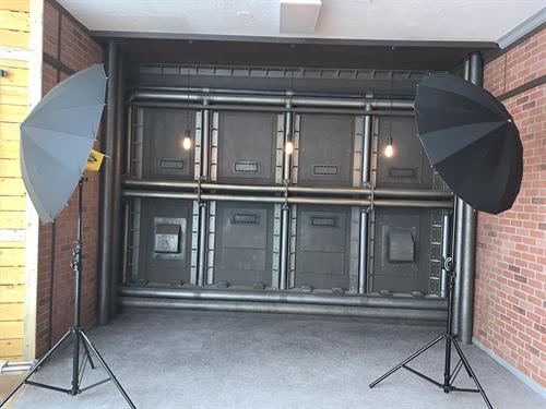 Industrial Backdrop Set