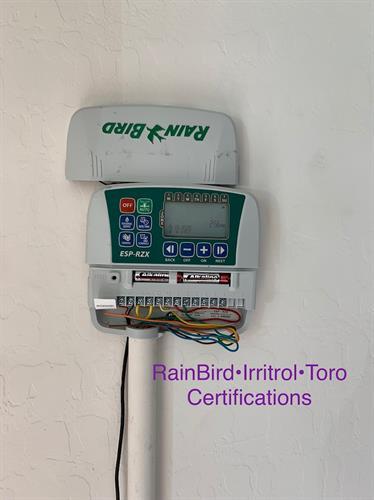 Rain Bird Certification