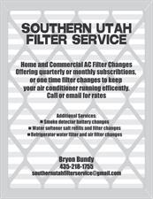 Southern Utah Filter Service