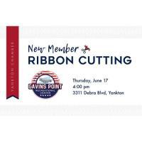 Gavins Point Recreational Center Ribbon Cutting