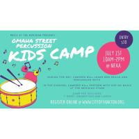 Omaha Street Percussion Kids Day Camp