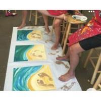 Painting with Lauren