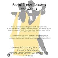 Social Dance Lessons for Adults