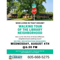 Walking Tour of the Library Neighborhood