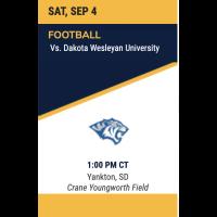 MMU Lancer Football vs Dakota Wesleyan