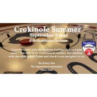 FREE Crokinole September Event