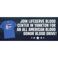 Yankton All American Blood Drive