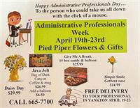 Pied Piper Flowers & Gifts - Yankton