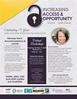 Increasing Access & Opportunity: Celebrating National Disability Employment Awareness Month