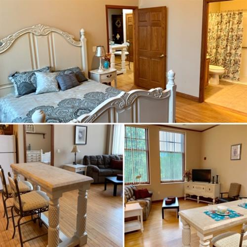 One of our beautifully furnished Independent Apartments.
