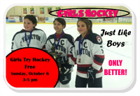 Girls Try Hockey Free
