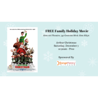 Free Family Holiday Movie - Arthur Christmas